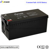 Батарея загерметизированная изготовлением свинцовокислотная AGM 12V200ah для UPS