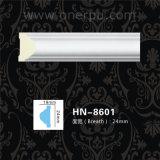 明白な腰長押の鋳造物PUのコーニス形成ポリウレタン天井Hn8601
