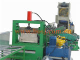 Rodillo perforado galvanizado flexible al aire libre resistente de la bandeja de cable que forma la máquina Irán de la producción