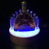 Supporto acrilico della visualizzazione di LED dell'OEM per la bottiglia