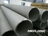 Tubo de acero inoxidable de En10216-5 X6crninb18-10 1.4550