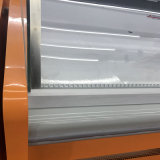 Refrigerador dinámico con pantalla de refrigeración para carnes, charcuterías y comida fresca