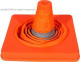 Cone de trânsito dobrável Jiachen com luz LED