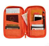 Владельца карточки мешка муфты мешка пасспорта владельца карточки перемещения Хлопк-Faux многофункциональный