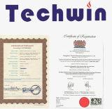 Techwin Multi-Linguistische Kabel-Faser-Optikschmelzverfahrens-Filmklebepressen