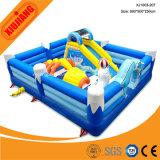Sosta gonfiabile gigante di galleggiamento esterna dell'acqua del gioco dei capretti con il migliore prezzo