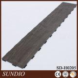 Pavimentazione di legno laminata impermeabile decorativa del PVC della venatura del legno con il rivestimento UV