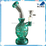 Wasser-Rohr-Ölplattform-Glas-Huka