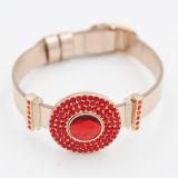 De Armband van de Charme van het Muntstuk van de manier met Kleurrijke Juwelen Bithstones