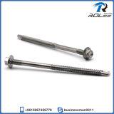 Vis Tek 410 en acier inoxydable pour structure en acier robuste Filaire double