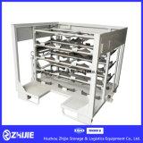 Estante material del silenciador trasero/estante del volumen de ventas