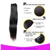 Brasilianer-Jungfrau-Haar der Großhandelspreis-Menschenhaar-Extensions-100%