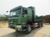 판매를 위한 브레이크에 물 스프레이어를 가진 중국 HOWO 371HP 6X4 덤프 트럭