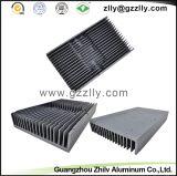 Disipador de calor de aluminio del perfil de la protuberancia del peine