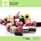 Изготовление сливочника желтых или белизны Non молокозавода для конфеты и помадок
