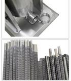 Llenador manual del acero inoxidable del llenador de la salchicha del equipo comercial del restaurante