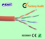 0.48mm 러시아 시장을%s 0.5mm 단단한 구리 CCC UTP CT5e 안전 네트워킹 케이블