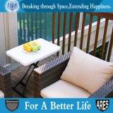 지원하 백색 금속을%s 가진 개인적인 조정가능한 테이블