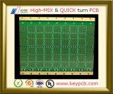 PWB da placa de circuito impresso do controle da impedância de 12 camadas para Infra o componente eletrônico da sauna