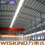 Struttura d'acciaio prefabbricata economica del gruppo di lavoro/magazzino dello schermo