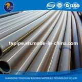 Tubulação do polietileno high-density da alta qualidade para o gás