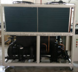 Refrigerador refrescado aire contra refrigerador refrigerado por agua
