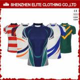 Rugby listrado elegante feito sob encomenda Jersey de Whiolesale para o Mens (ELTRJI-26)