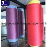Stimolante 100% del filato 75D/48f DTY del filamento del poliestere tinto