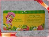 Подгонянный напечатанный лист листовки брошюры Hang Binding бумажный