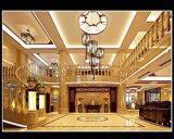 Reticolo del medaglione dell'intarsio del medaglione del marmo del getto di acqua per la decorazione dell'interno