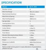 Axe 8 de Kcmco-Kct-808 0.1-1.0mm à grande vitesse et ressort de compression stable enroulant la machine enroulante de ressort de Machine&Spring