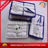 Toalha confortável mini branco para trem e companhia aérea