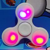 Het kleurrijke LEIDENE van de Verlichting Stuk speelgoed van de Hand friemelt Spinner W/Switch