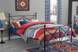 현대 고품질 여왕 금속 침대