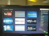 De androïde dvb-S2 Doos van TV Combo met Mickyhop OS, Middleware Stalker