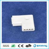 Connecteur à bande LED 3528/5050 Adaptateur linéaire rectangulaire rectangulaire en L à 4 broches L