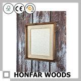 Frame de madeira da foto do retrato do estilo rústico para a decoração