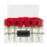 Персонализированная акриловая коробка /Plastic Rose коробки цветка