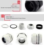Tipo modificado para requisitos particulares glándula del magnesio de cable ininflamable fija plástica del nilón de 20m m
