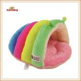 Het het mooie Bed van de Hond van de Regenboog & Huis van het Huisdier voor Kleine Honden en Katten
