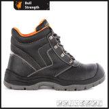 Zapato de seguridad de cuero del PPE de 945 series modelo de PU/PU Outsole (SN5488)