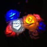 Indicatore luminoso della decorazione del mare del fiore del LED Rosa