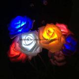 LED 로즈 꽃 바다 훈장 빛