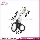 La fasciatura medica della garza dell'acciaio inossidabile del pronto soccorso Scissor