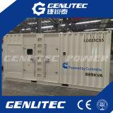 Containerized Geluiddichte Diesel van 600kw 750kVA Cummins Generator