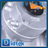 Didtek API 6D Endlosschrauben-Gang betreiben Gussteil-Stahl Wcb Kugelventil