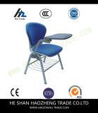 Hzpc273 Capacity Black Plastic Stack Chair com superfície de tecido