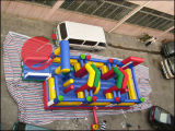 2017 aufblasbarer Funcity aufblasbarer Vergnügungspark-aufblasbarer Kind-Park (T6-414)