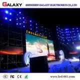 Parete dell'interno calda dello schermo di visualizzazione del LED di colore completo di RGB dell'affitto di vendita video per gli eventi della fase