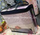 多卸し売り工場か綿材料キルトにするファブリック現代ベッドカバーの寝具の一定のベッド・カバーシートの双生児のサイズ